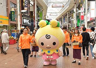 10/31(日)「もとずきんちゃん」ミニ・パレードを実施します