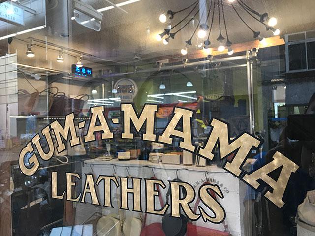 GUM-A-MAMA LEATHERS(ガムアママ レザーズ)